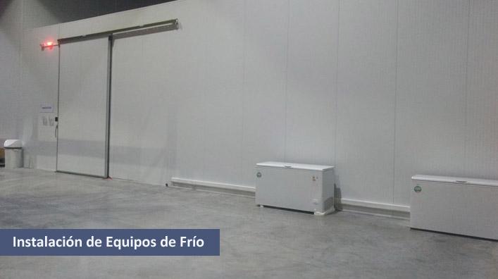 Instalación de Equipos de Frío